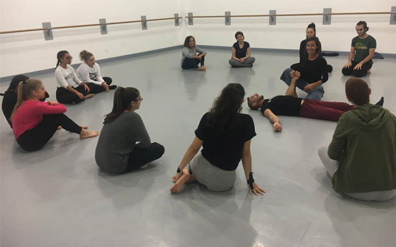 CONTACT IMPROVISATION CON VERA DE PROPRIS 26.10.19